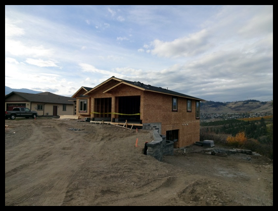Building a Home in Coldstream, Third Month, time for the first draw so everyone gets paid on time.